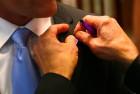 Keith Walker Receives Purple Ribbon