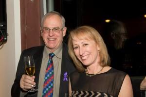 Patrons Karen and Harold Cunilffe