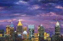 Atlanta Skyline – Gillian Theunissen Horsley