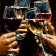 Red, White and Rose – Fabian Perez